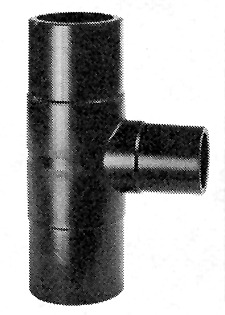T 90° reduziert PE100 SDR11