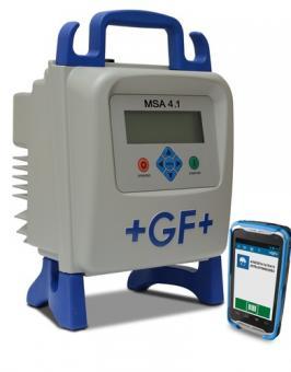 MSA 4.1 Elektroschweißgerät mit Produktrückverfolgung, GPS-Funktion und Bluetooth-Scanner