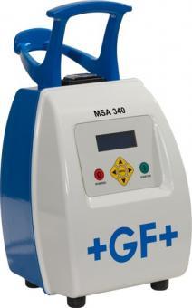 MSA 340 Eletroschweißgerät mit Protokollierung (Produktrückverfolgung und GPS Funktion)