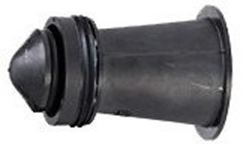 Gasstop Typ AD 25 mbar - 1 bar mit Überströmöffnung, System Pipelife GS
